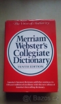 merriam-webster-s-collegiate-dictionary-10-edition bazoš sbazar