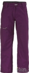 SCOTT PANT WOMENS OMAK DARK PURPLE PLAID L bazoš sbazar